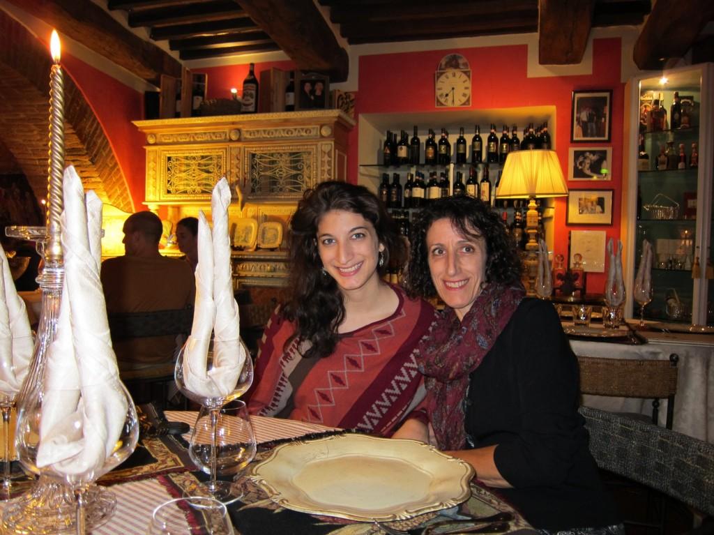 Dinner in Montepulciano