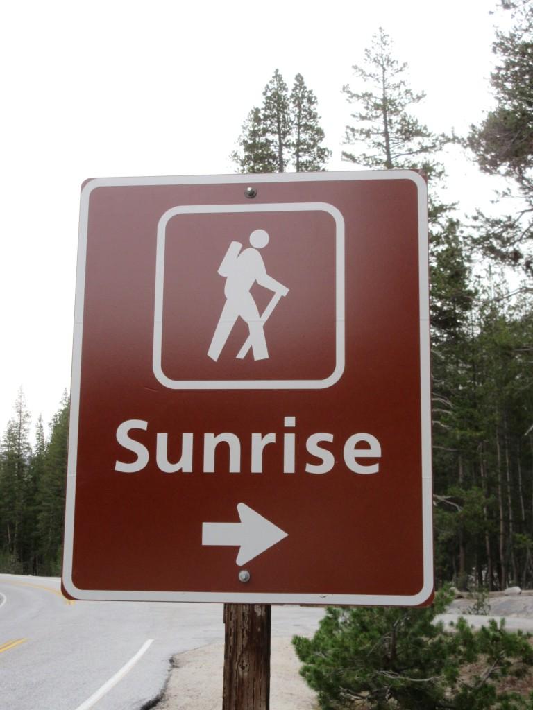 Sunrise Trailhead