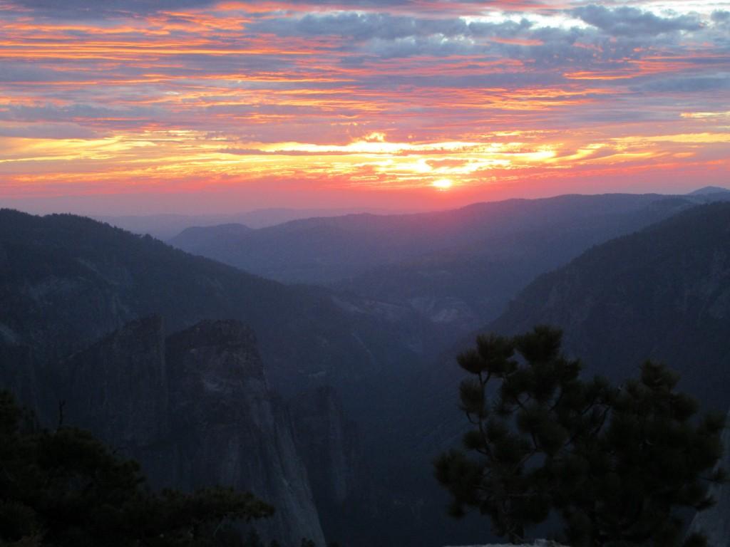 yosemite - sentinel dome - sunset3