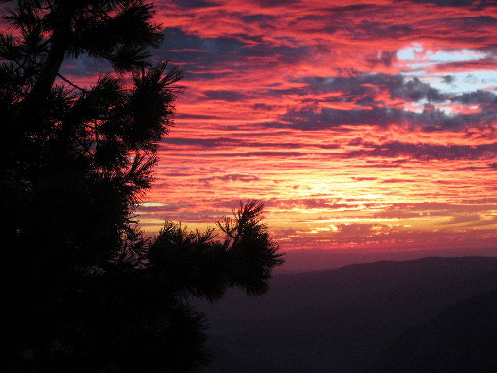 yosemite - sentinel dome - sunset5